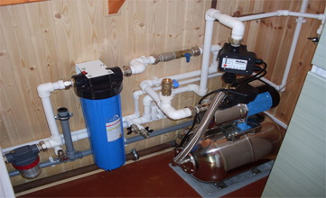 Монтаж водоснабжения в частном доме Владимирской области