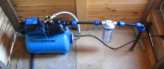 Монтаж водоснабжения (летний вариант) для сада и дачи во Владимирской области