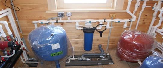 Монтаж водоснабжения (зимний вариант) для загородных домов и коттеджей во Владимирской области