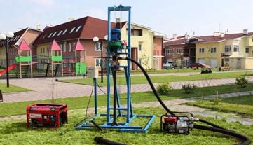 Бурение малогабаритной буровой установкой в Уфе и Башкортостане