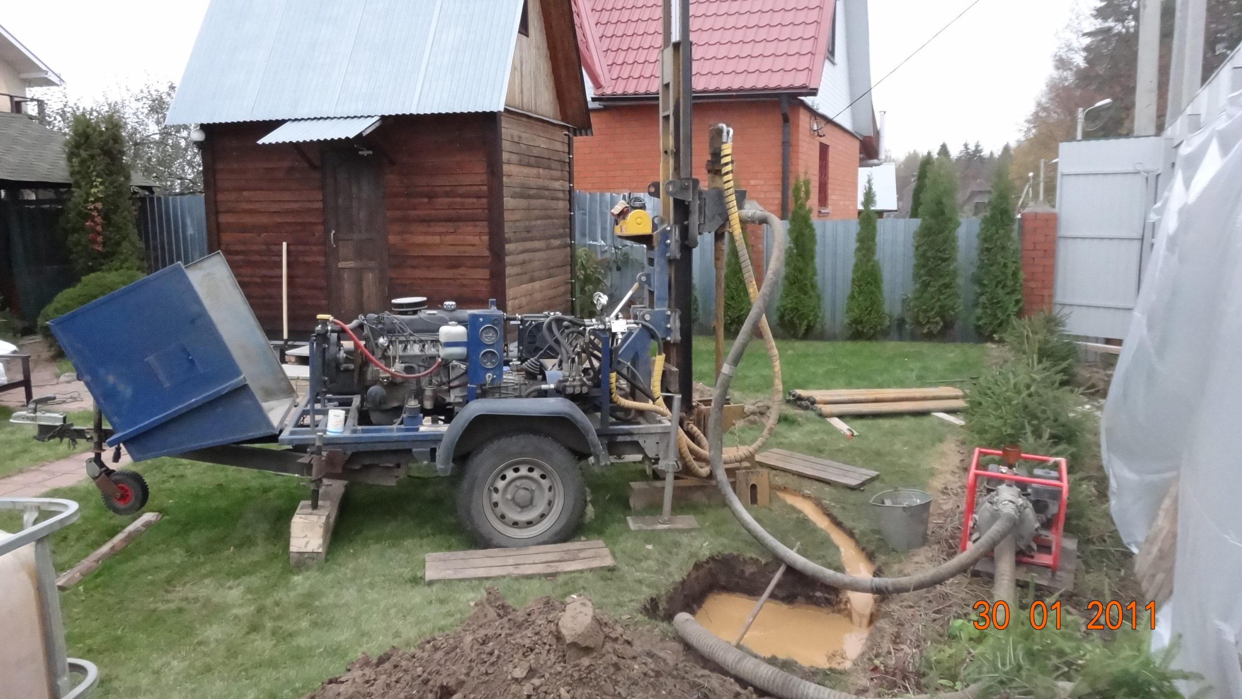 Бурение скважин малогабаритной установкой в Уфе и Башкортостане