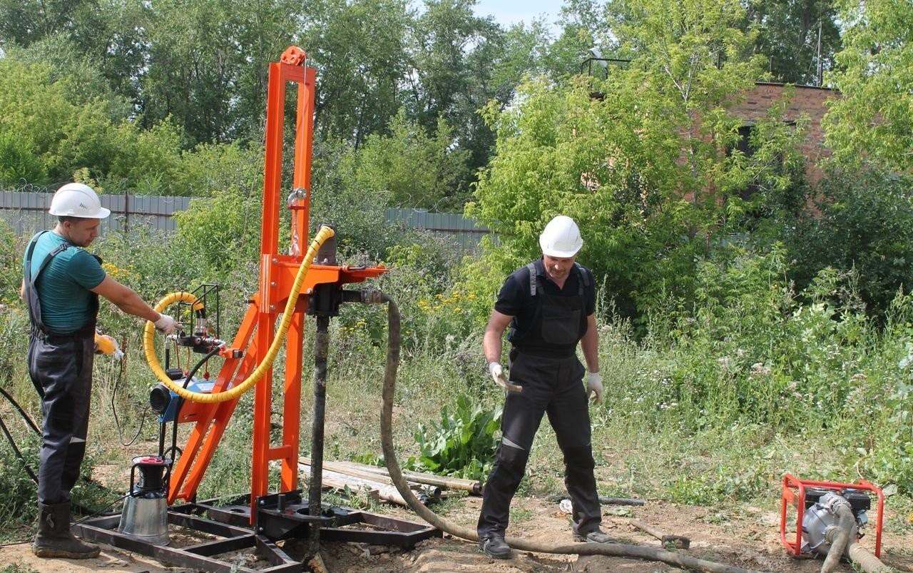 Бурение скважин на воду сборной установкой МБУ в Уфе и Башкортостане