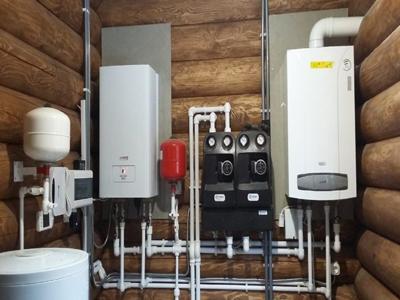 Монтаж системы отопления и котла в Уфе и Уфимском районе